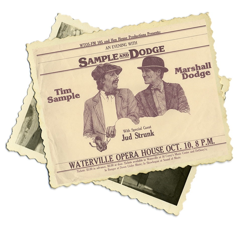 Sample and Dodge Poster