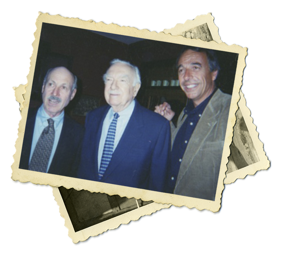 Tim and Walter Cronkite