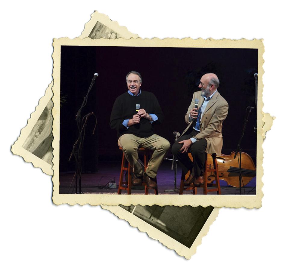 Tim and folk icon Noel Paul Stookey